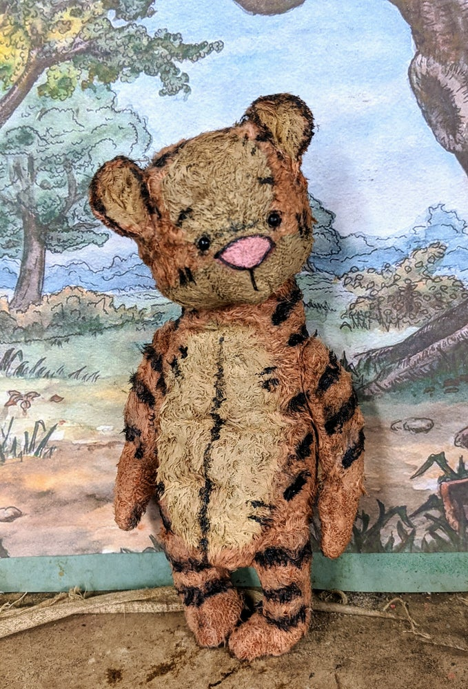 Image of Classic vintage style Tigger the toy tiger by whendis bears