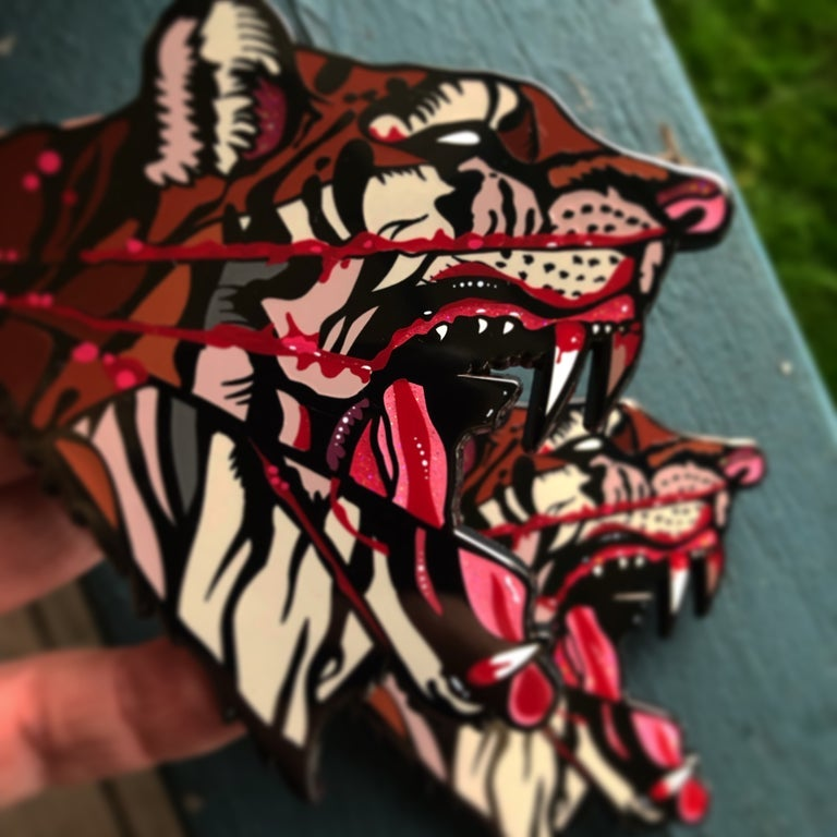Image of Dusty Ray PsyCheDeLiC Tgr PiN!