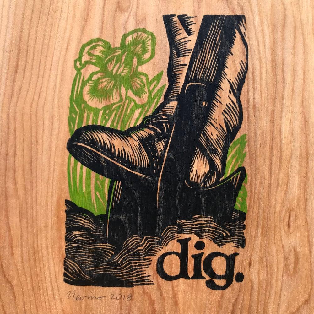 Wooden Dig!
