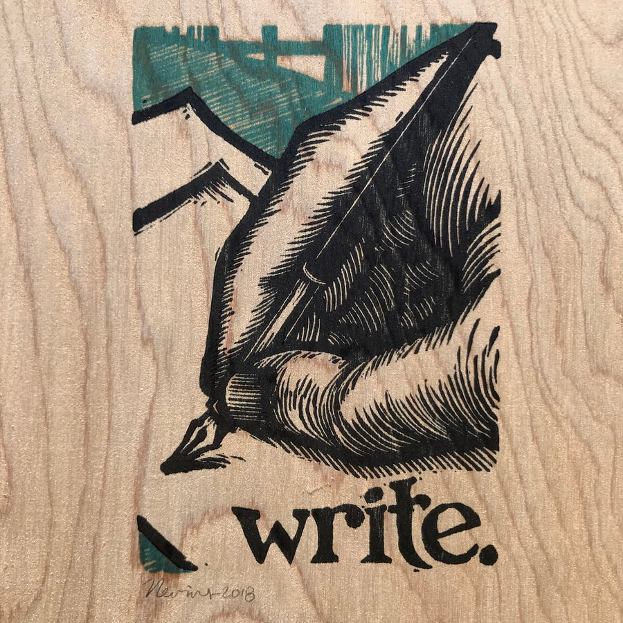 Image of Wooden Write!