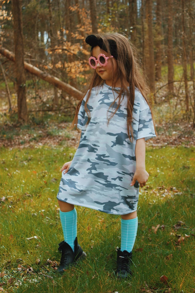 Image of Camo Tee Dress