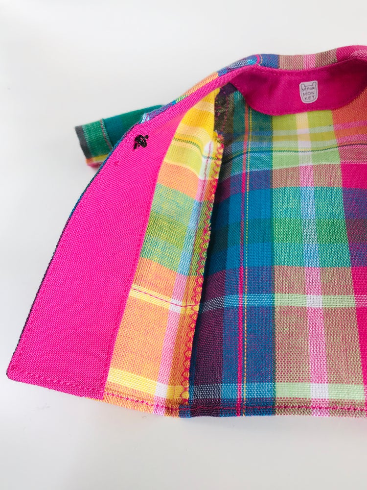 Image of Rainbow coat for Neo Blythe