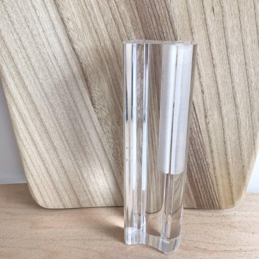 Image of Acrylic Midcentury Modern Vase