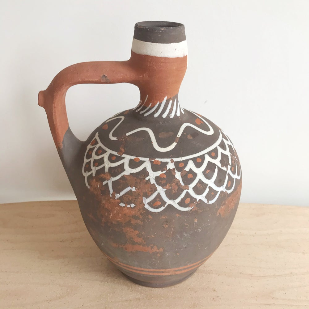 Image of Mexican Clay Jug