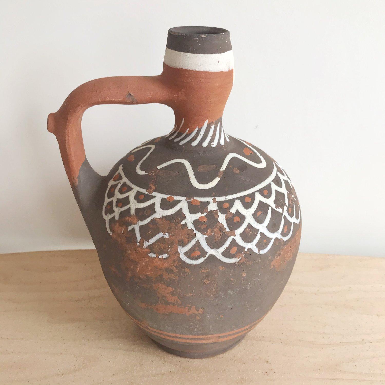 Image of Mexican Clay Jug