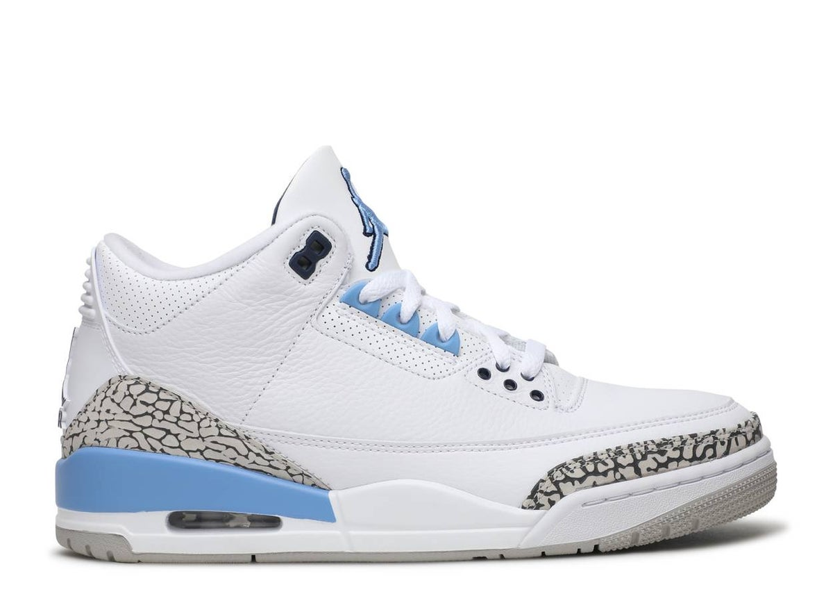 Image of AIR JORDAN 3 RETRO 'UNC'