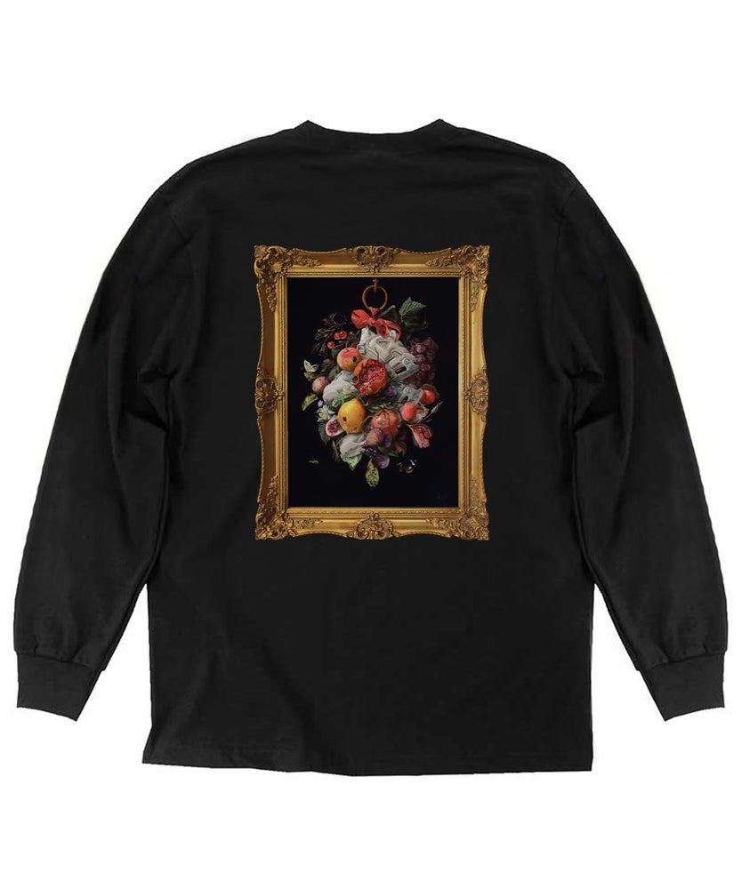 "Image of ""LOVE: YOU GAVE ME A RUN FOR MY MONEY"" Framed Long Sleeve T-Shirt"
