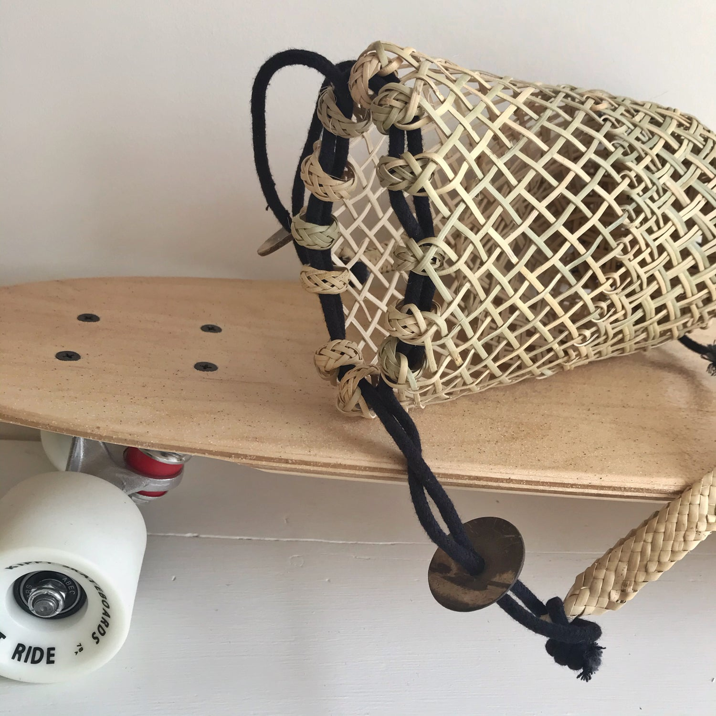 Image of Mini Island Backpack  - Black String
