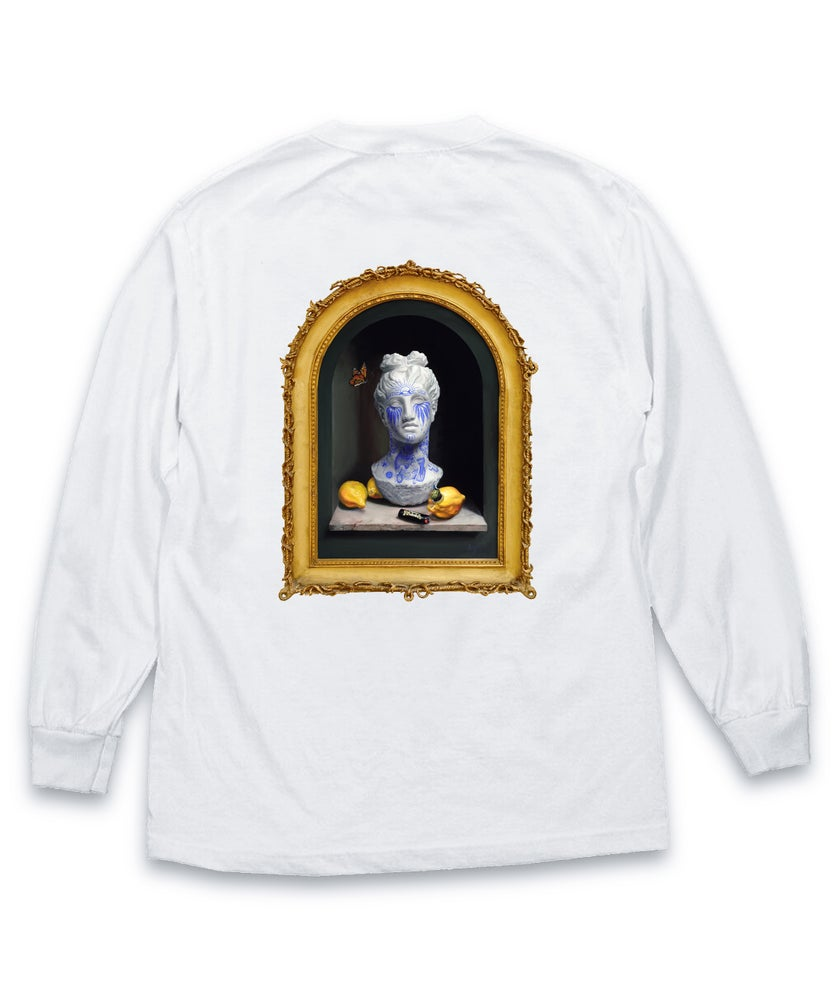 "Image of ""WHY SO SERIOUS?"" Framed Long Sleeve T-Shirt"