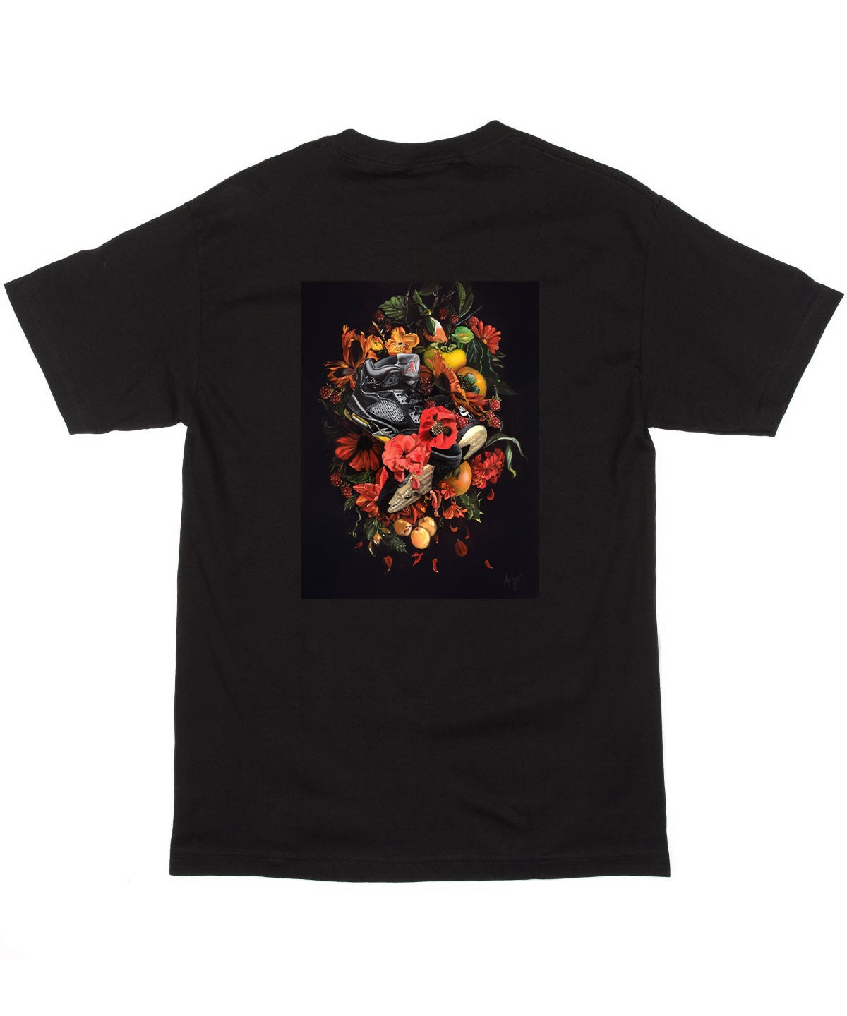 "Image of ""DOWN IN OLD FLAMES"" Short Sleeve T-Shirt"