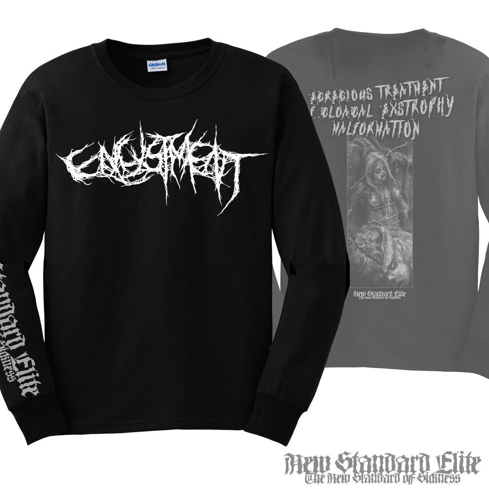 "Image of ENCYSTMENT ""EXTROPHY"" LONG SLEEVE"