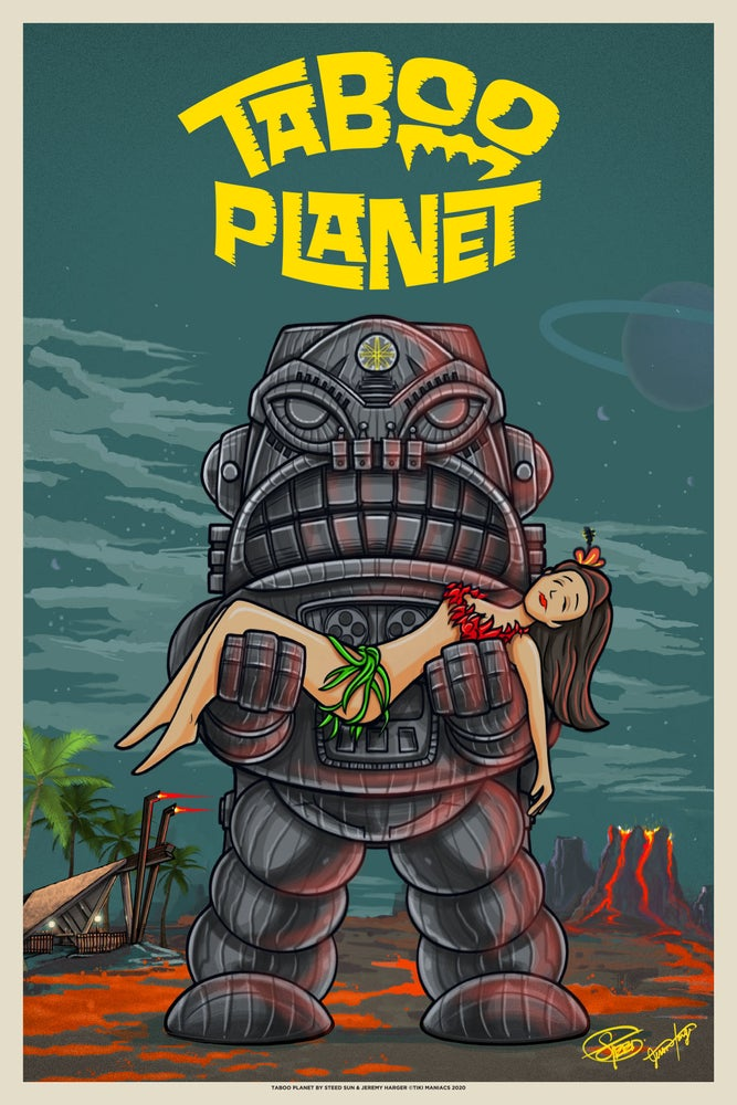 Image of Taboo Planet Limited Edition Art Print