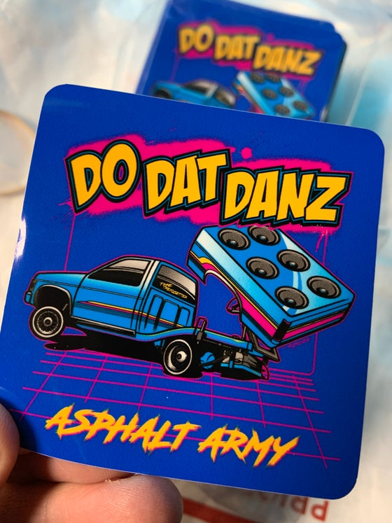 Image of DO DAT DANZ NISSAN Sticker