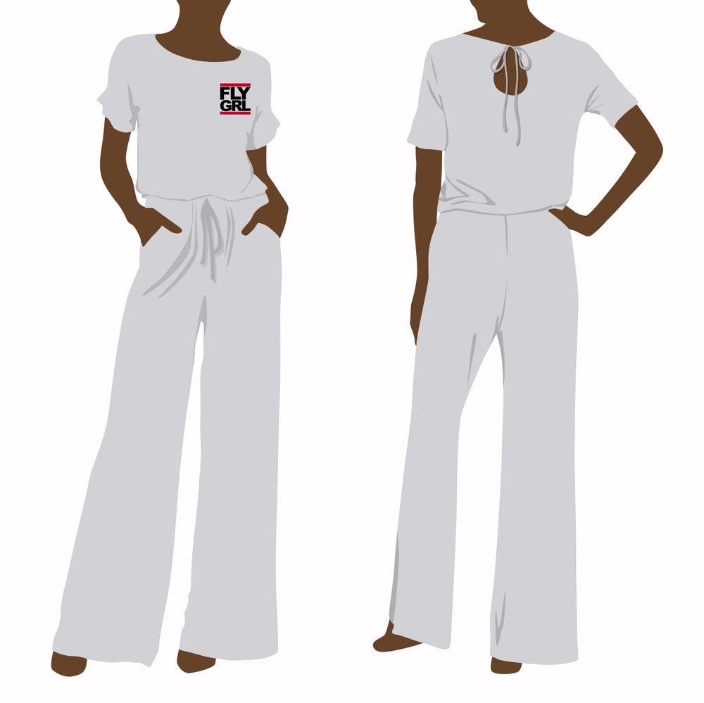 Image of FLY GRL Wide Leg Casual Jumpsuit