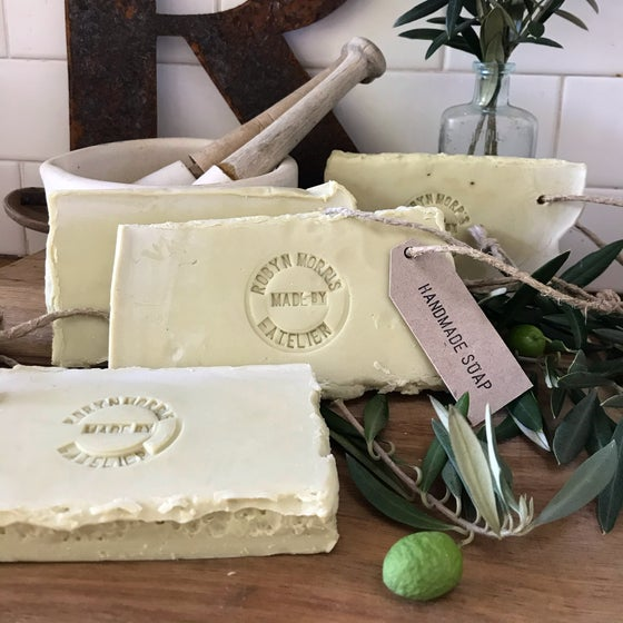 Image of Olive oil soap slabs