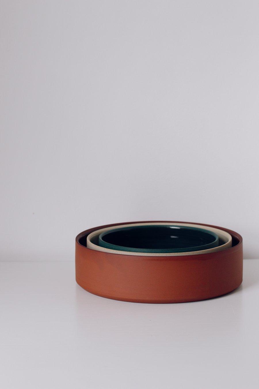 Image of Set of Serving Platters