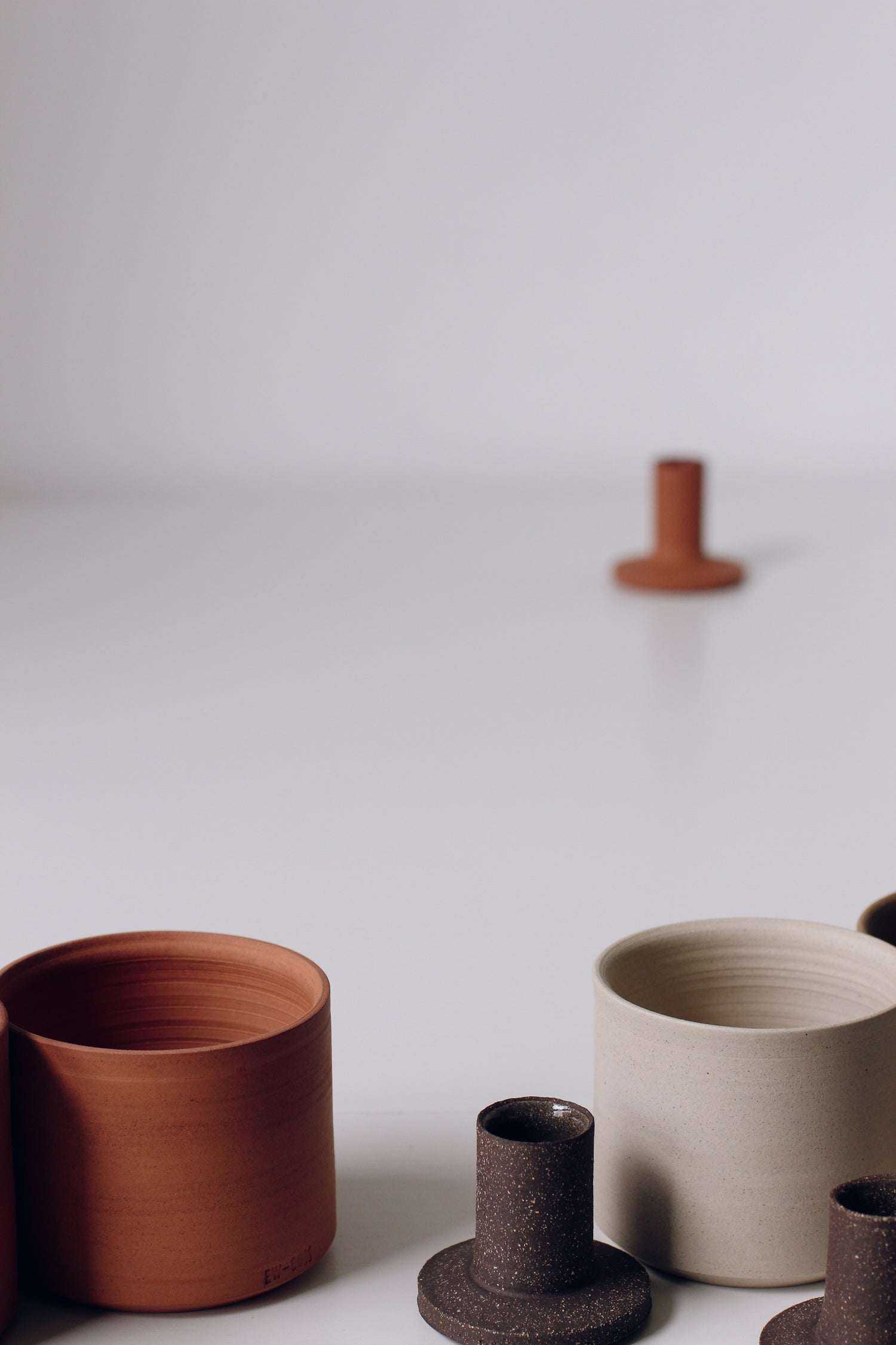 Image of Set of Planters Terracotta