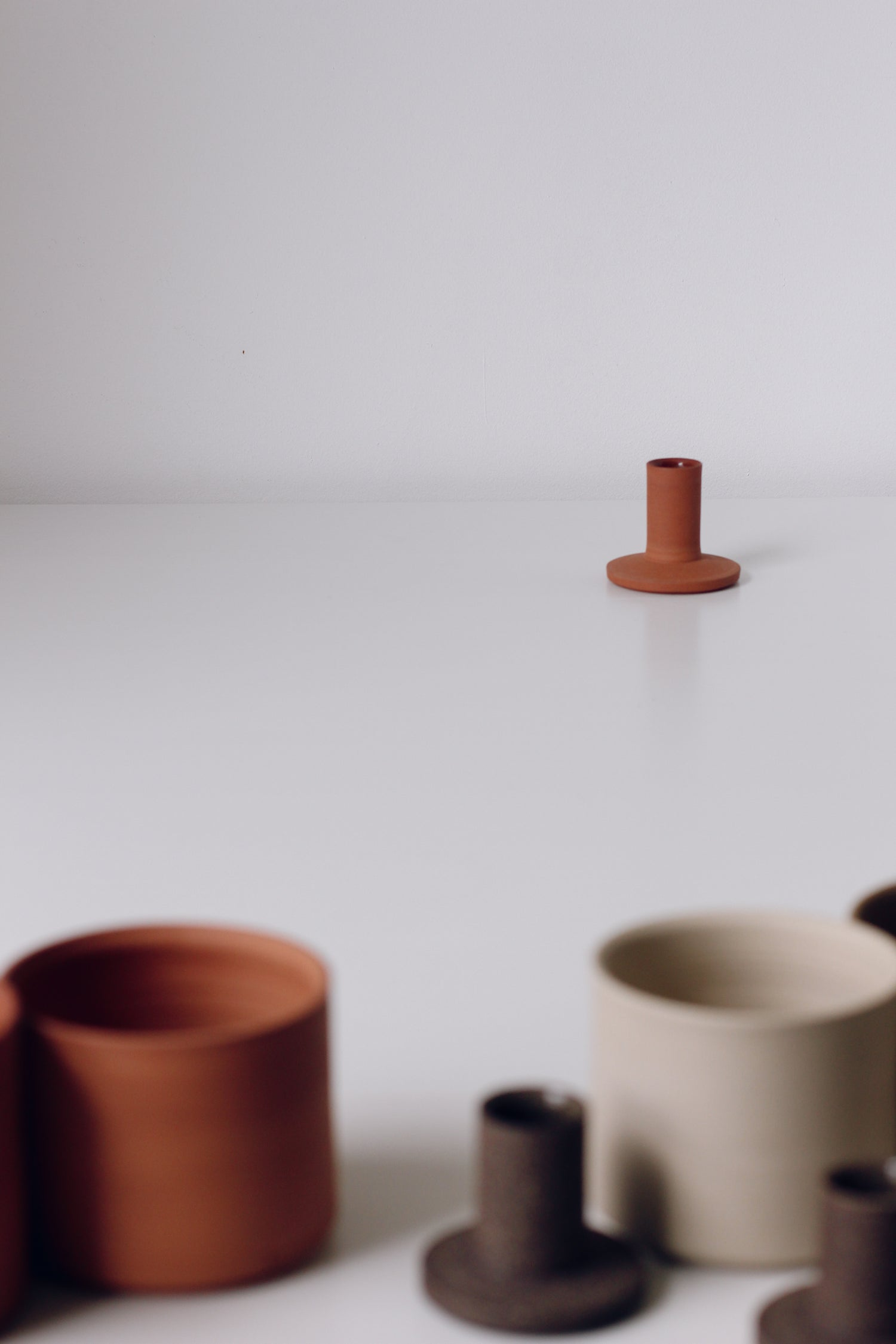 Image of Candleholder Earthenware