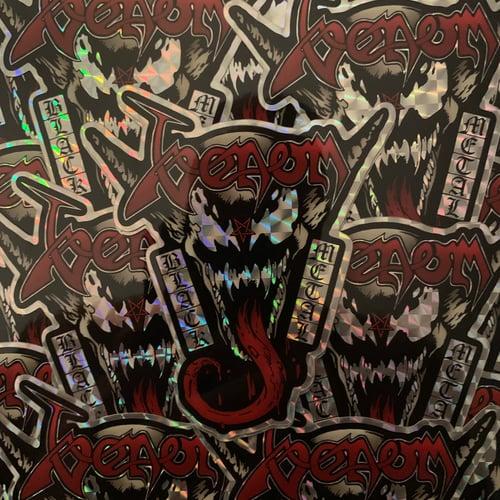Image of Style Over Substance Dark presents Venom: Black Metal (Sticker Only)
