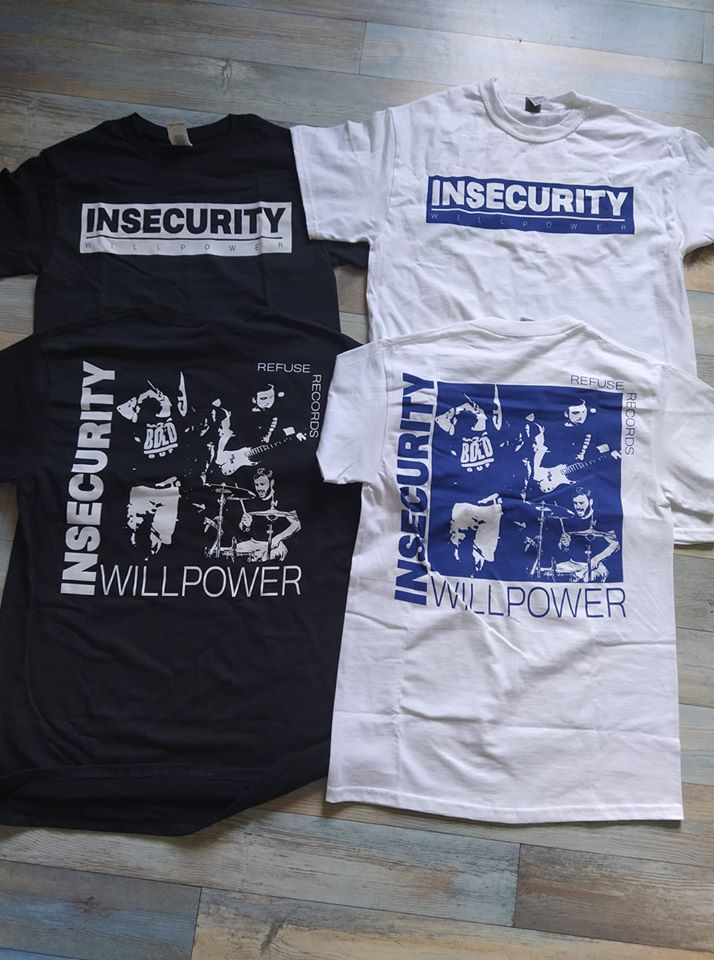 Image of Insecurity - Euro Tour '20 [T-Shirt]