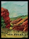 "Red Rocks of Colorado, USA (Art Print) • (18"" x 24"")"