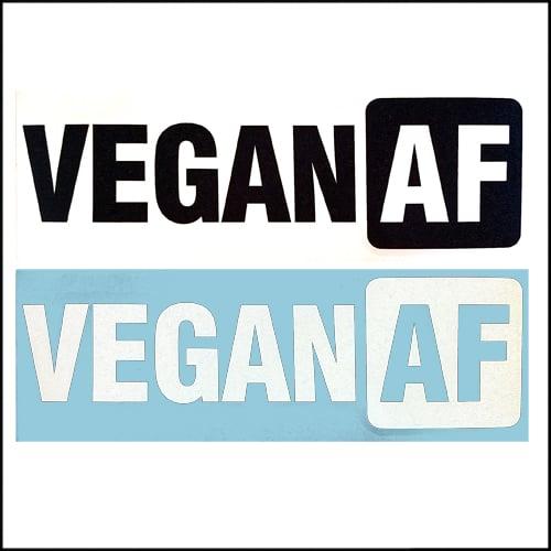 Image of Vegan AF DECAL