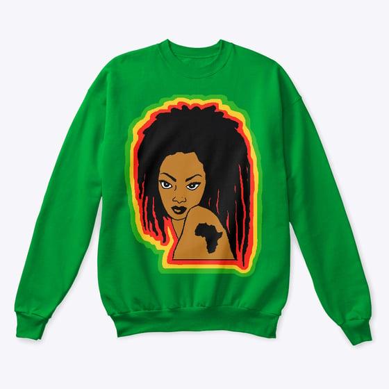 Image of The RGG Dawta Crewneck Sweatshirt in Green
