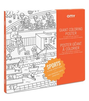 Image of OMY giant colouring poster