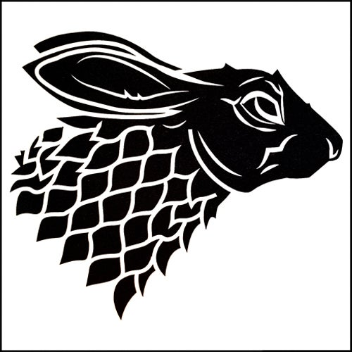 Image of GOT Bunny DECAL