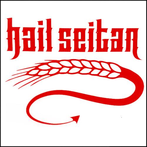 Image of Hail Seitan DECAL