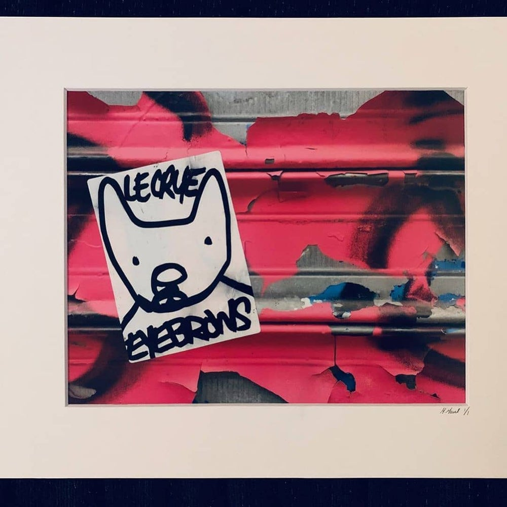 Image of Collaboration print red