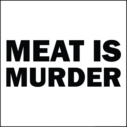 Image of Meat Is Murder DECAL