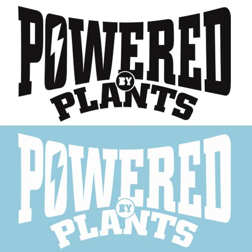 Image of Powered By Plants DECAL