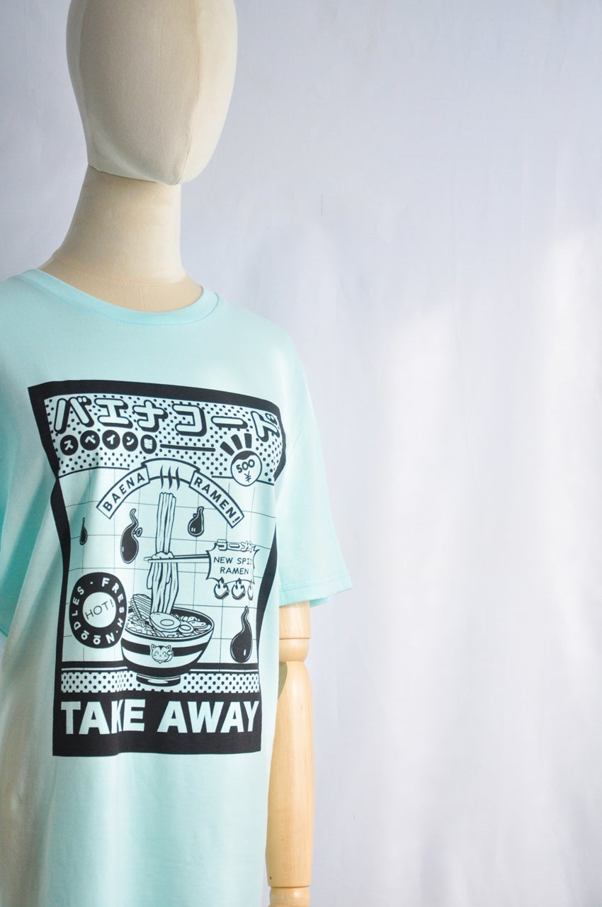 Image of T-SHIRT BLUE RAMEN