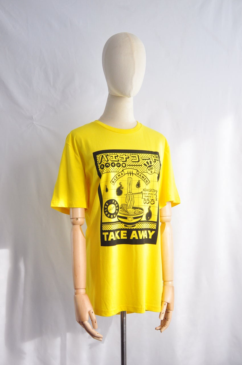 Image of T-SHIRT YELLOW RAMEN