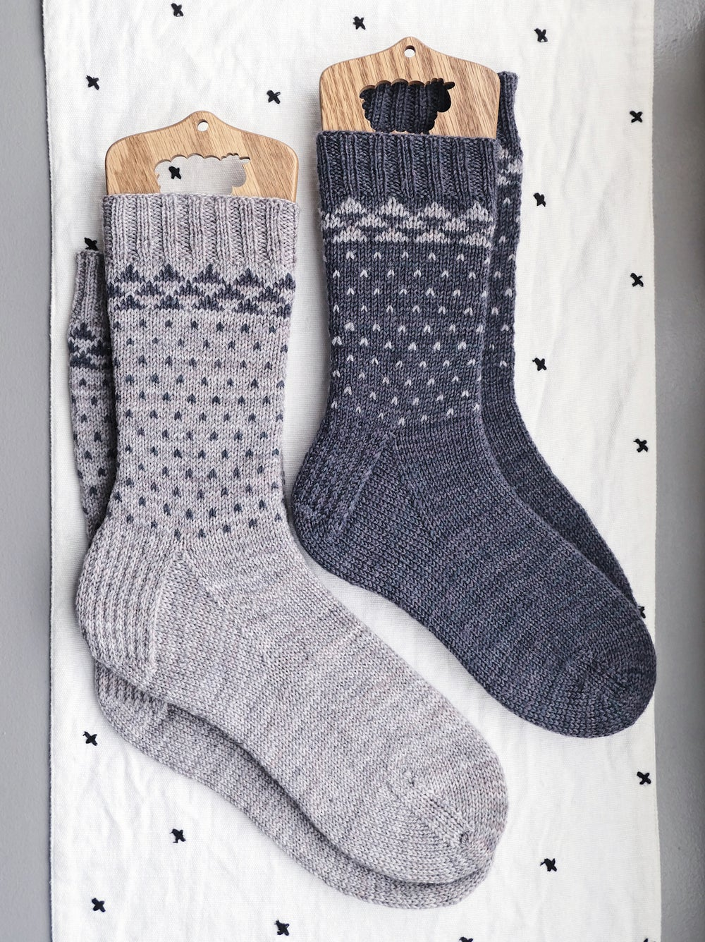 Image of Upplega Sock, Two Sizes (PDF)