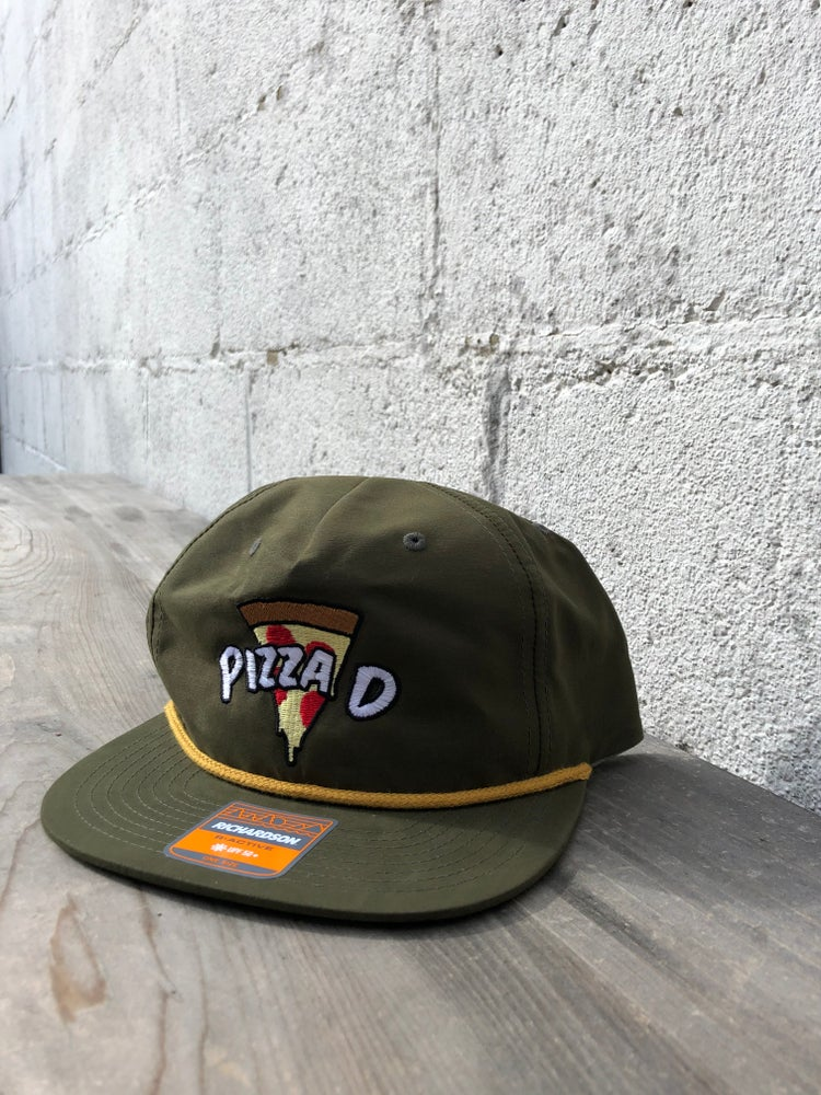 Image of Pizza D Hat - Green