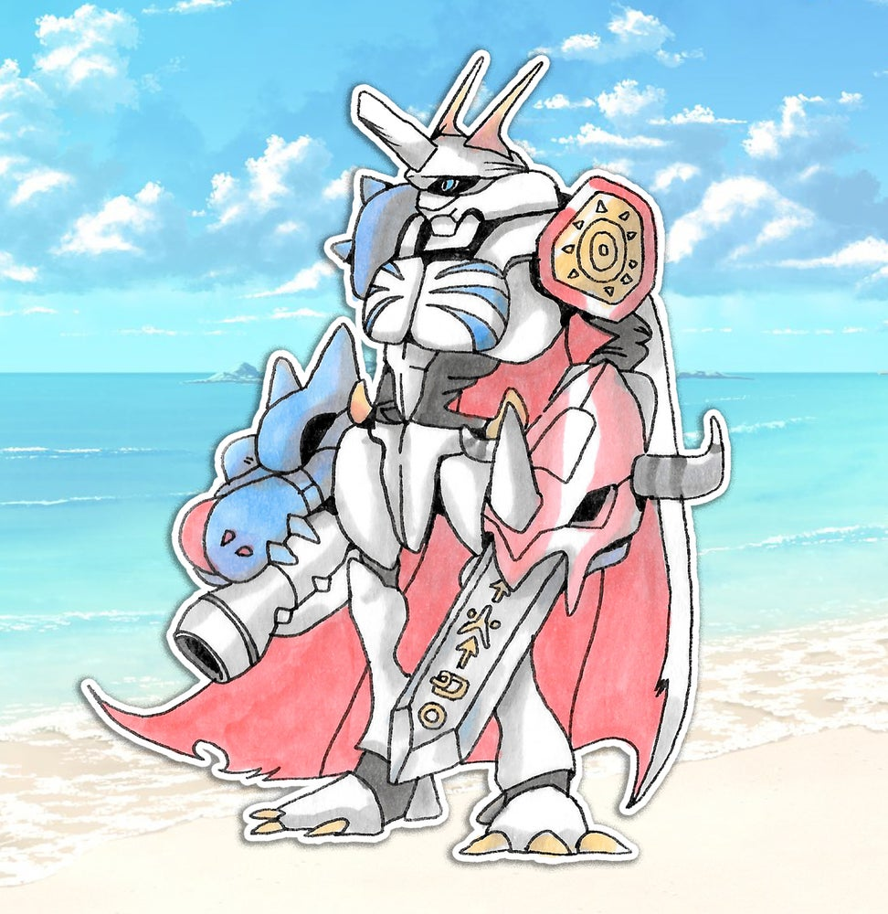Image of Omnimon Sticker