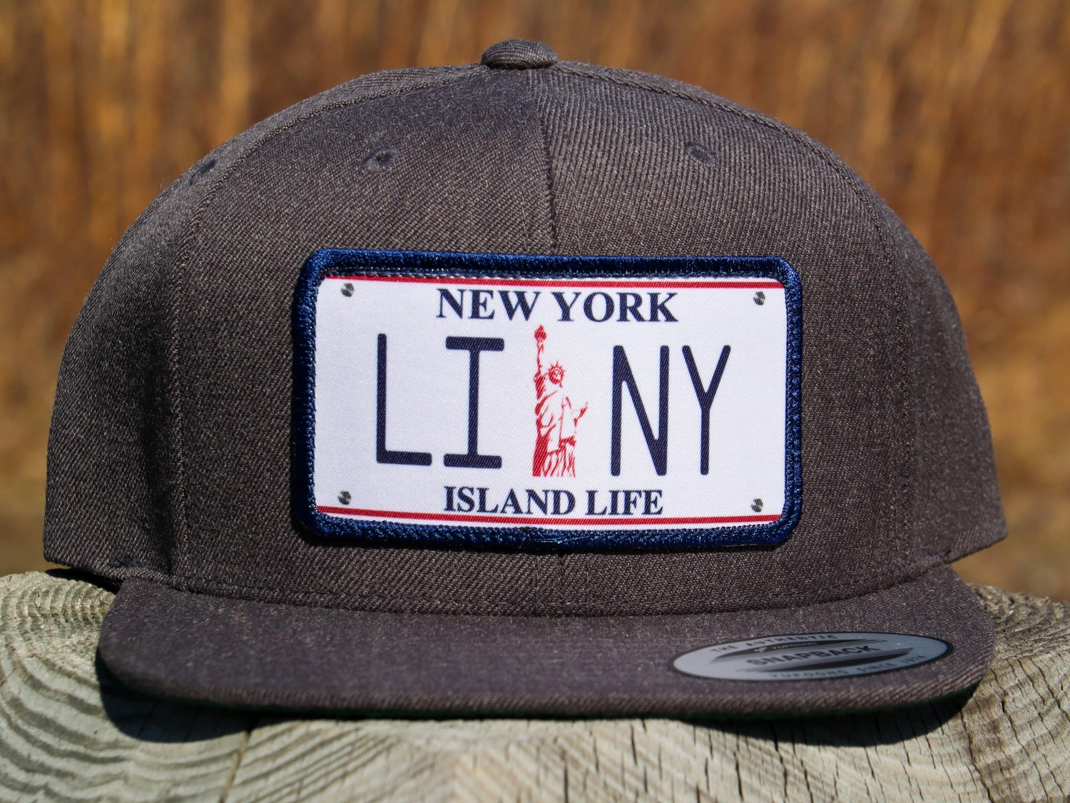 Image of Lady Liberty License Plate Hat
