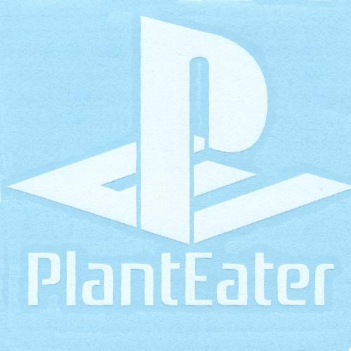 Image of Plant Eater DECAL