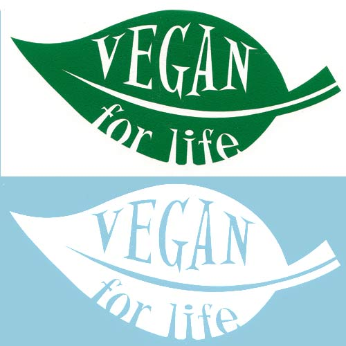 Image of Vegan for Life DECAL