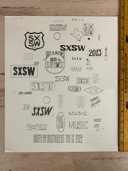 Image of Original Ink for South by Southwest Music Festival (Dan)