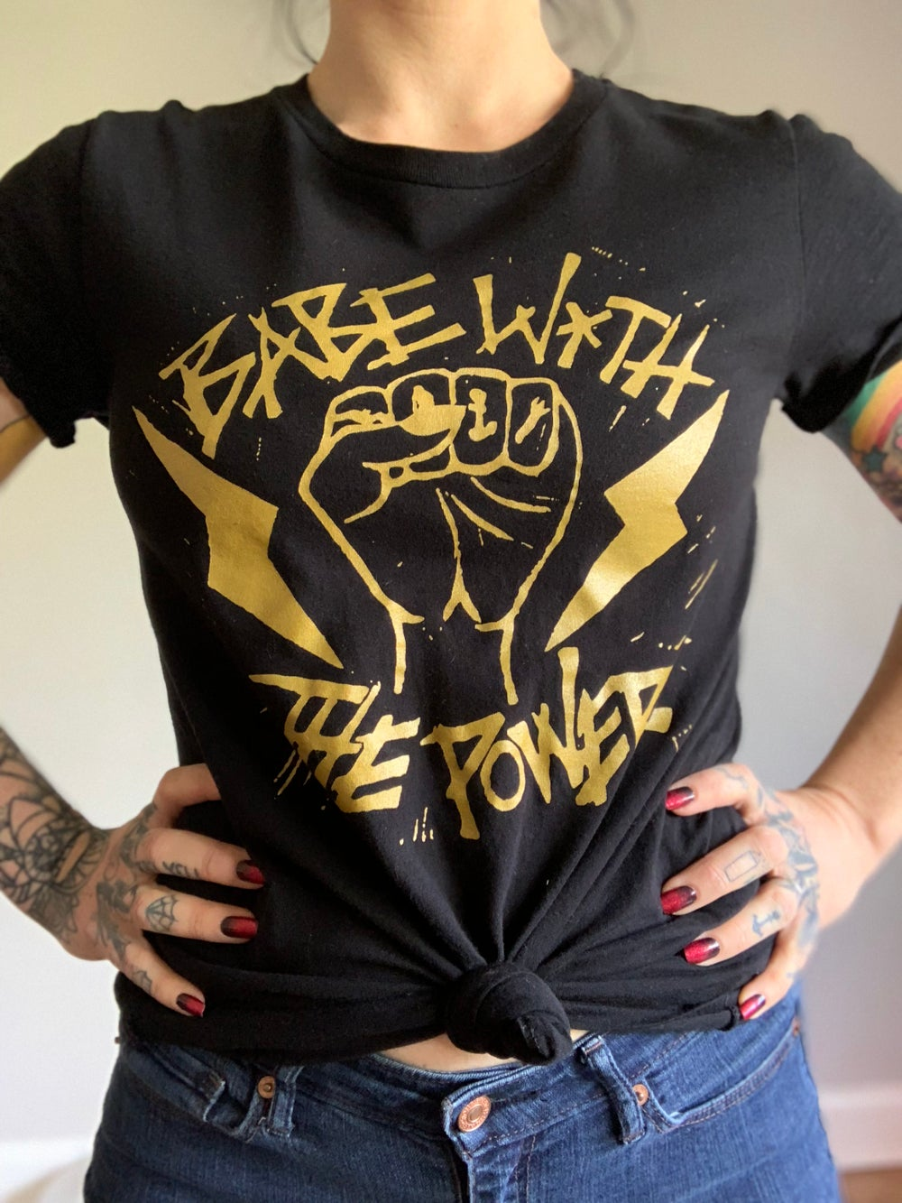 Image of Babe with the Power