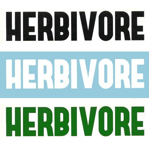 Image of Herbivore DECAL