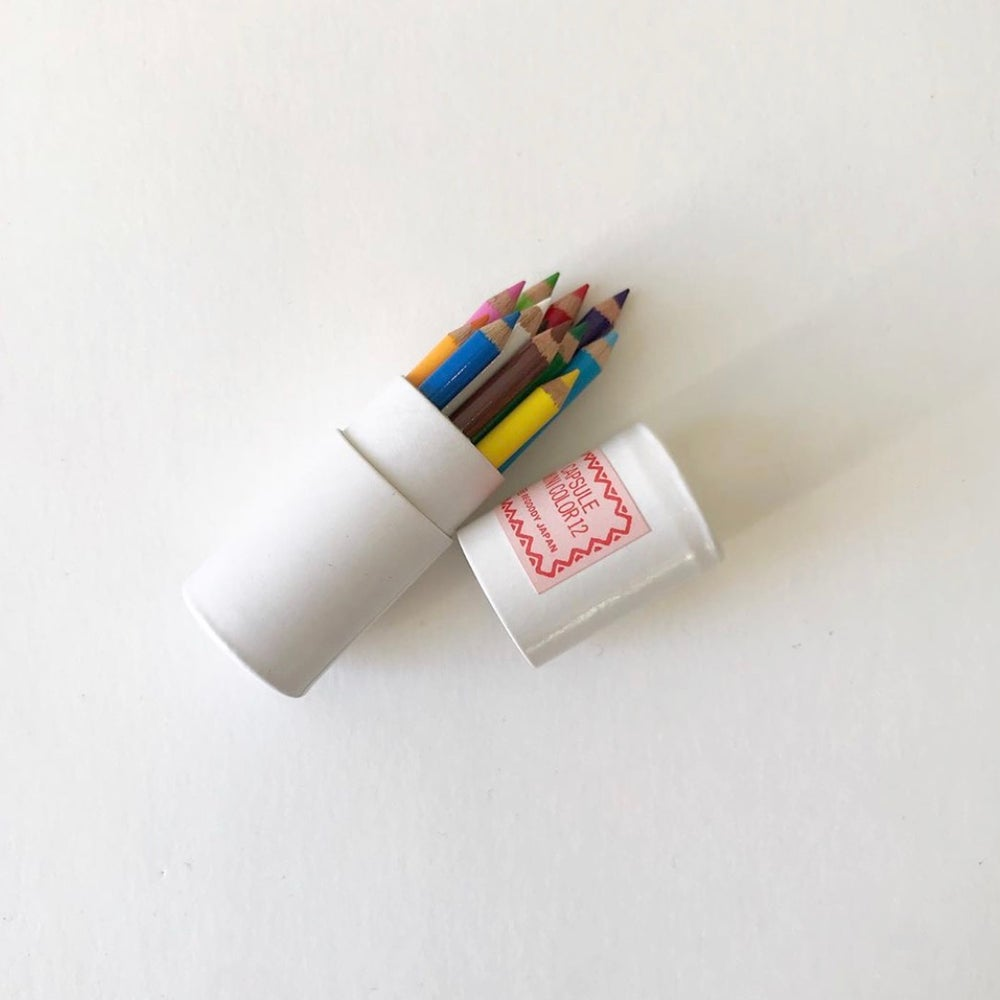 Image of Mini Colored Pencil Capsule