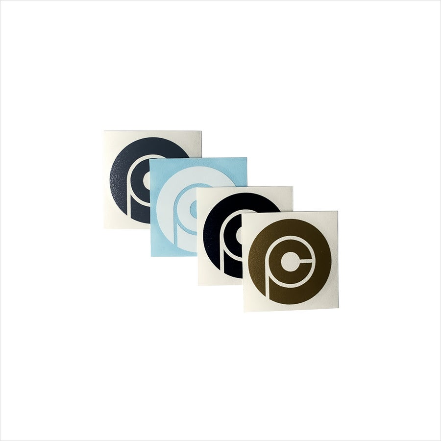 Image of PEDAL Consumption Transfer Sticker Set
