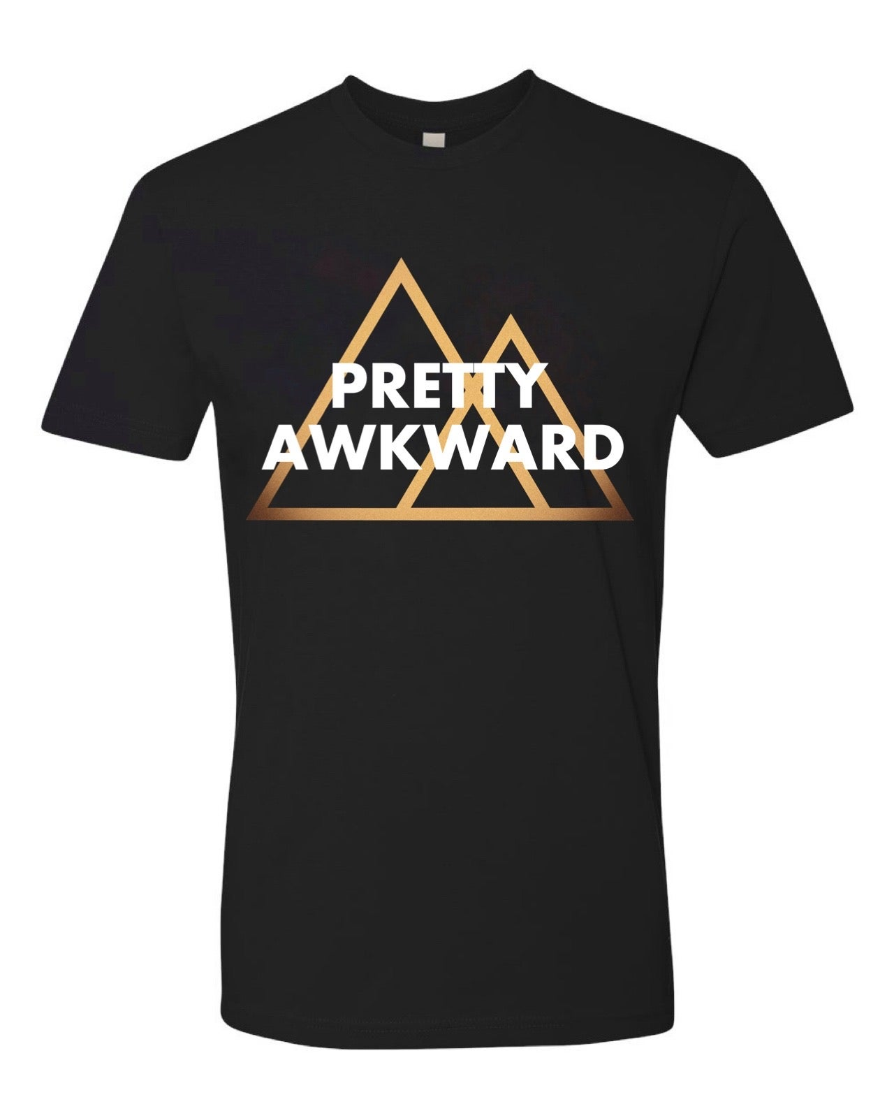 Image of PRETTY AWKWARD PYRAMIDS TEE