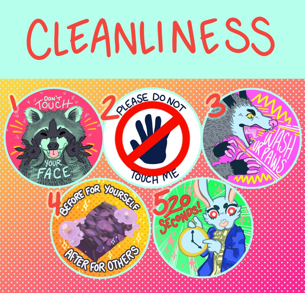 Cleanliness buttons!