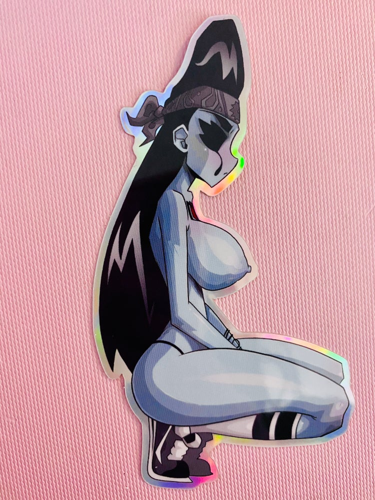 Image of Sad Girl Sticker