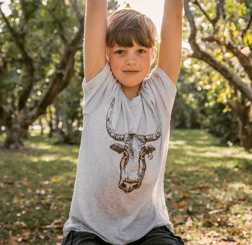 Image of Youth Longhorn Short Sleeve Tee
